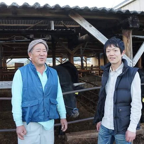 生産農家の越智さん